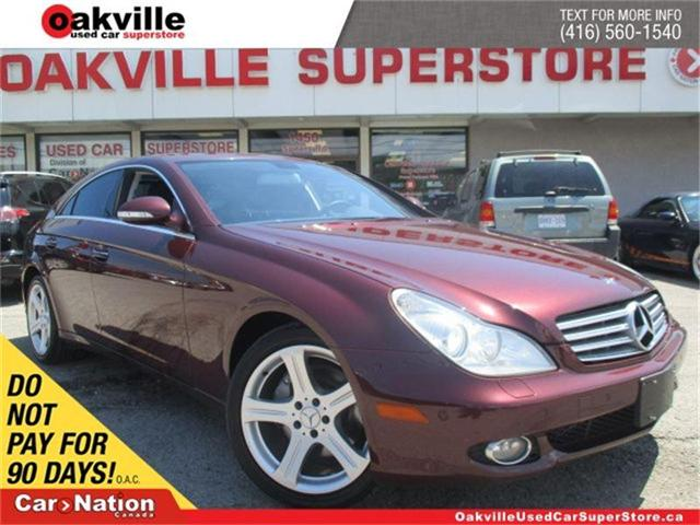 2007 Mercedes-Benz CLS-Class 550 | AS-IS TO PUBLIC | YOU SAFETY YOU SAVE (Stk: P10059A) in Oakville - Image 1 of 30