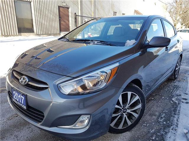 2017 Hyundai Accent SE-sunroof-alloys-super clean (Stk: op9600) in Mississauga - Image 1 of 20