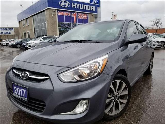2017 Hyundai Accent SE-Sunroof-alloys-heated seats (Stk: op9633) in Mississauga - Image 1 of 19