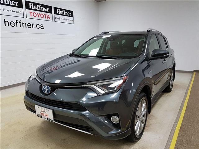 2016 Toyota RAV4 Hybrid Limited (Stk: 176531) in Kitchener - Image 1 of 23