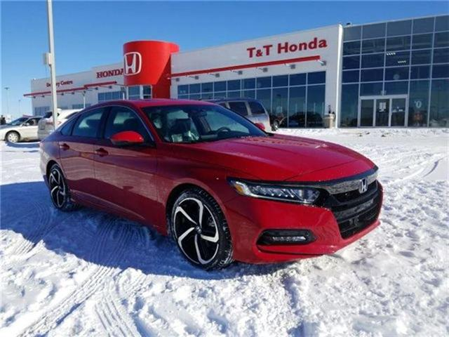 2018 Honda Accord Sport (Stk: 2180512) in Calgary - Image 1 of 9