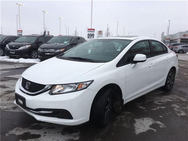 2013 Honda Civic EX (Stk: I180465A) in Mississauga - Image 3 of 22