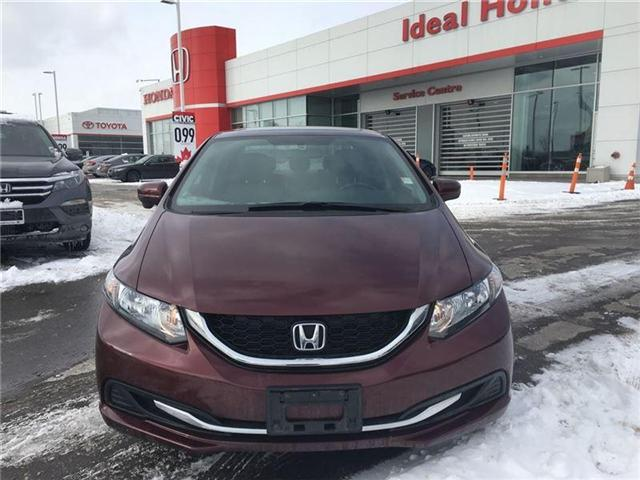 2015 Honda Civic EX (Stk: I180587A) in Mississauga - Image 2 of 20
