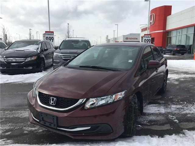 2015 Honda Civic EX (Stk: I180587A) in Mississauga - Image 3 of 20