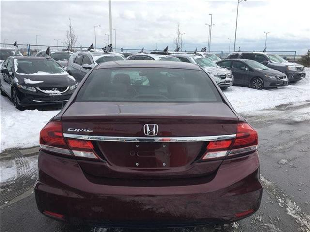 2015 Honda Civic EX (Stk: I180587A) in Mississauga - Image 6 of 20