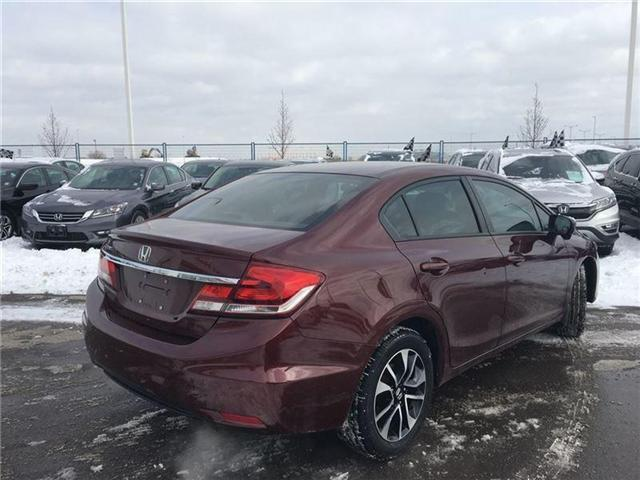 2015 Honda Civic EX (Stk: I180587A) in Mississauga - Image 7 of 20