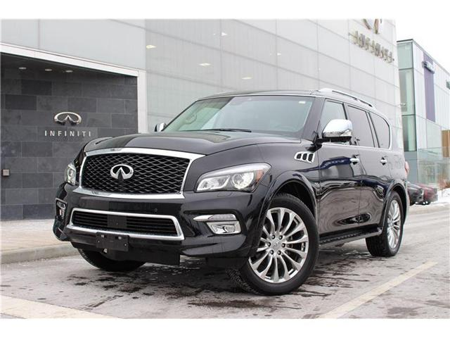 2017 Infiniti QX80 Technology Package (Stk: P0512) in Ajax - Image 1 of 17