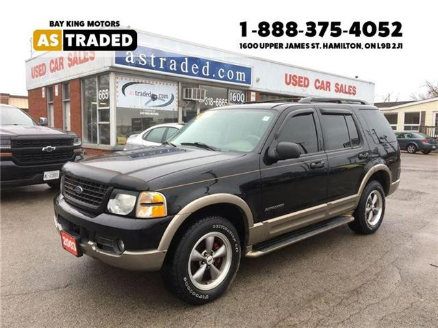 2003 Ford Explorer Eddie Bauer (Stk: 16-7622B) in Hamilton - Image 1 of 20