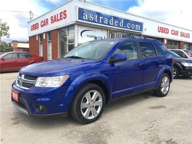 2012 Dodge Journey SXT & Crew (Stk: 17-7511A) in Hamilton - Image 2 of 19