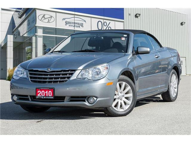 2010 Chrysler Sebring Touring (Stk: 17TU238B) in Mississauga - Image 1 of 18