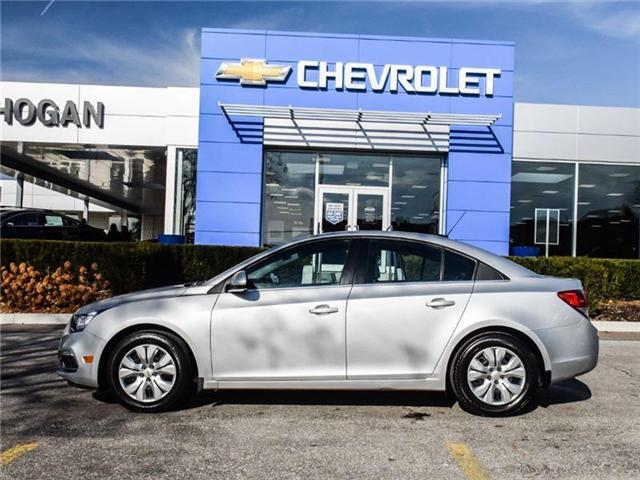 2016 Chevrolet Cruze Limited 1LT (Stk: A168878) in Scarborough - Image 2 of 24
