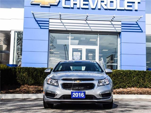 2016 Chevrolet Cruze Limited 1LT (Stk: A168878) in Scarborough - Image 4 of 24