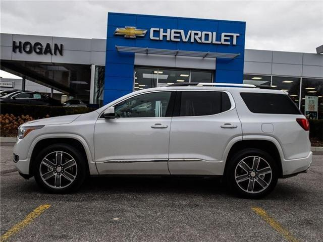 2017 GMC Acadia Denali (Stk: A253776) in Scarborough - Image 2 of 27