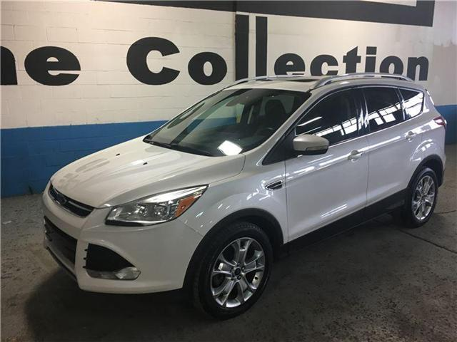 2015 Ford Escape Titanium AWD / Pano Roof / Navi / Leather / Clean (Stk: 1MFCU9) in Toronto - Image 2 of 29