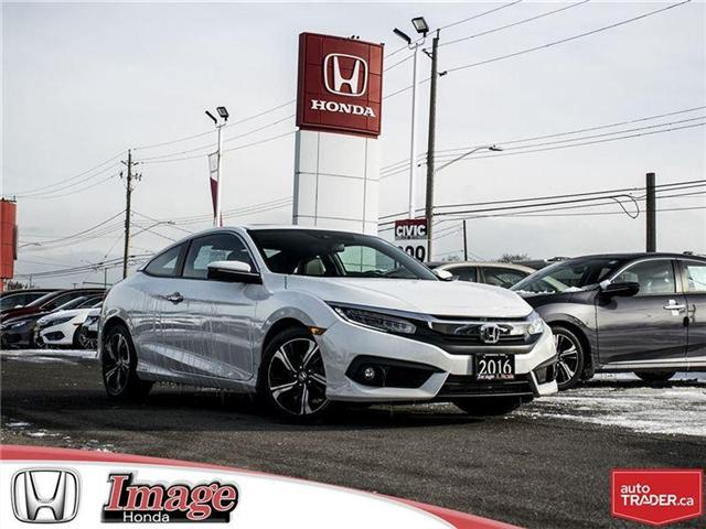 2016 Honda Civic Touring (Stk: OE4084A) in Hamilton - Image 1 of 18