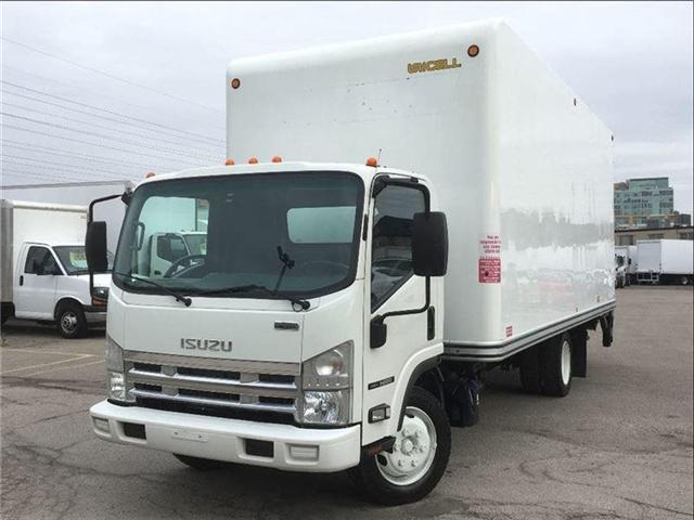 2015 Isuzu NRR Used 2015 Isuzu W/20' Body & Tailgate Loader!!! (Stk: ST300191T) in Toronto - Image 1 of 11