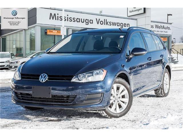 2017 Volkswagen Golf Sportwagon Trendline (Stk: P2970) in Mississauga - Image 1 of 19