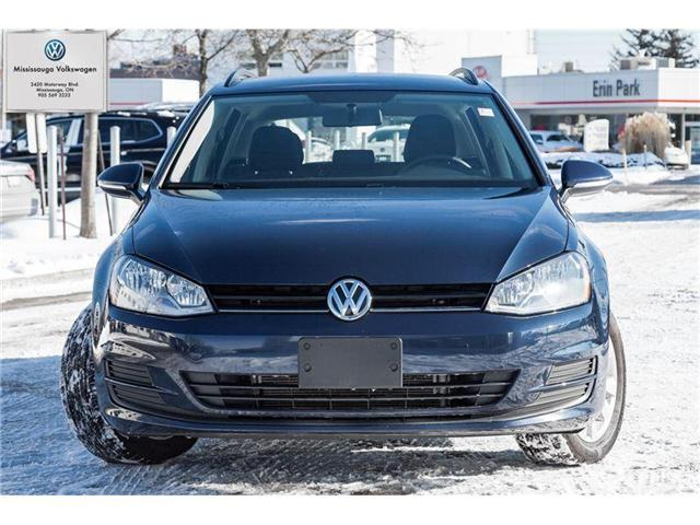 2017 Volkswagen Golf Sportwagon Trendline (Stk: P2970) in Mississauga - Image 2 of 19