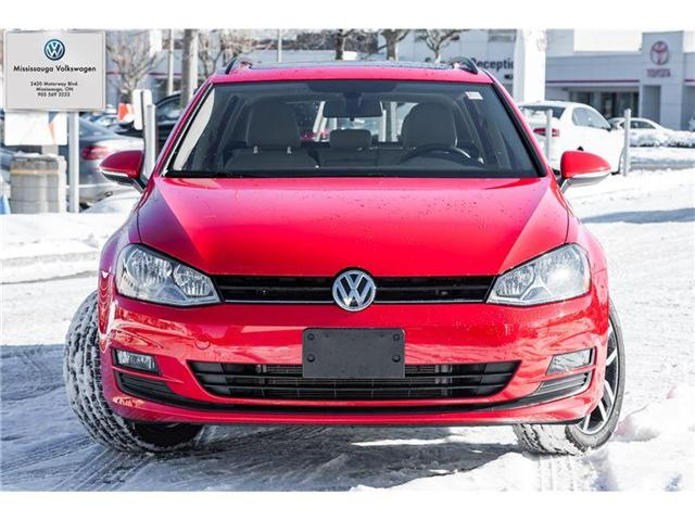 2017 Volkswagen Golf Sportwagon 1.8 TSI Comfortline (Stk: P3019) in Mississauga - Image 2 of 21
