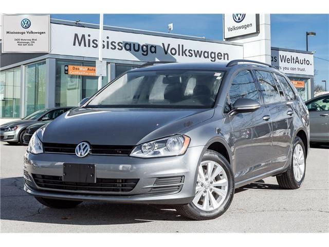 2017 Volkswagen Golf Sportwagon 1.8 TSI Trendline (Stk: P3020) in Mississauga - Image 1 of 19