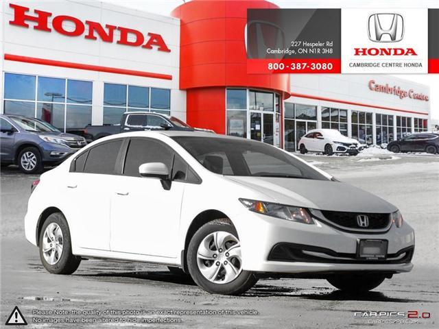 2014 Honda Civic LX (Stk: 18289A) in Cambridge - Image 1 of 27