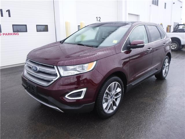 2017 Ford Edge Titanium (Stk: 17-743) in Kapuskasing - Image 1 of 20