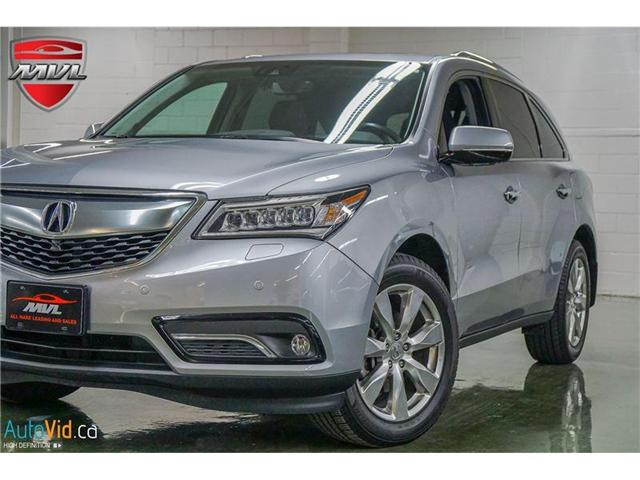 2016 Acura MDX Elite Package (Stk: 5FRYD4) in Oakville - Image 1 of 36