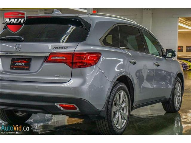 2016 Acura MDX Elite Package (Stk: 5FRYD4) in Oakville - Image 2 of 36