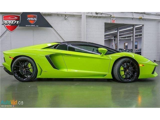 2017 Lamborghini Aventador LP700-4 Roadster (Stk: Lamborghini-1) in Oakville - Image 5 of 50