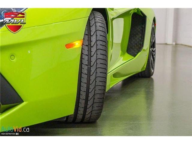 2017 Lamborghini Aventador LP700-4 Roadster (Stk: Lamborghini-1) in Oakville - Image 15 of 50