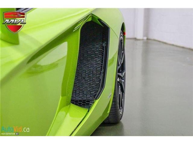 2017 Lamborghini Aventador LP700-4 Roadster (Stk: Lamborghini-1) in Oakville - Image 19 of 50
