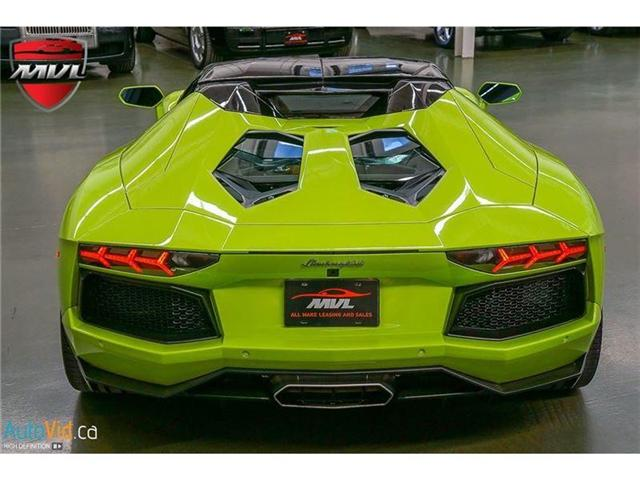 2017 Lamborghini Aventador LP700-4 Roadster (Stk: Lamborghini-1) in Oakville - Image 24 of 50