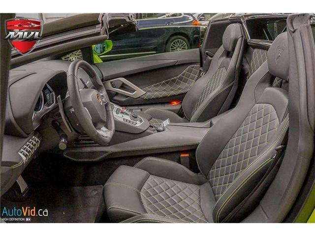2017 Lamborghini Aventador LP700-4 Roadster (Stk: Lamborghini-1) in Oakville - Image 28 of 50
