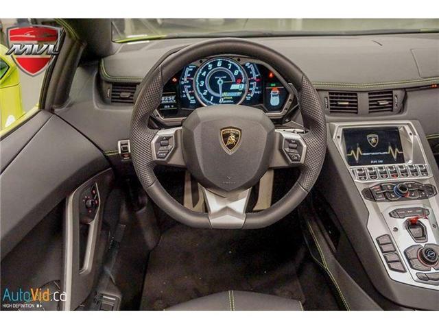 2017 Lamborghini Aventador LP700-4 Roadster (Stk: Lamborghini-1) in Oakville - Image 31 of 50