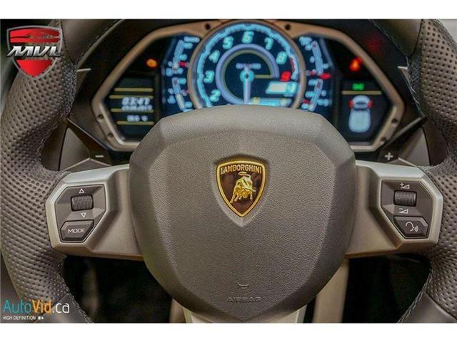 2017 Lamborghini Aventador LP700-4 Roadster (Stk: Lamborghini-1) in Oakville - Image 32 of 50