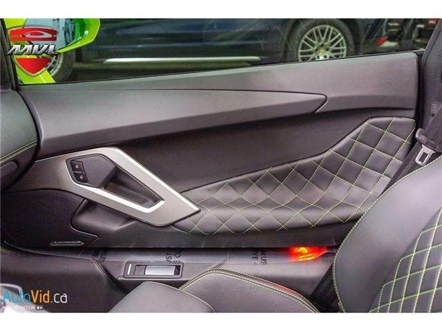 2017 Lamborghini Aventador LP700-4 Roadster (Stk: Lamborghini-1) in Oakville - Image 45 of 50
