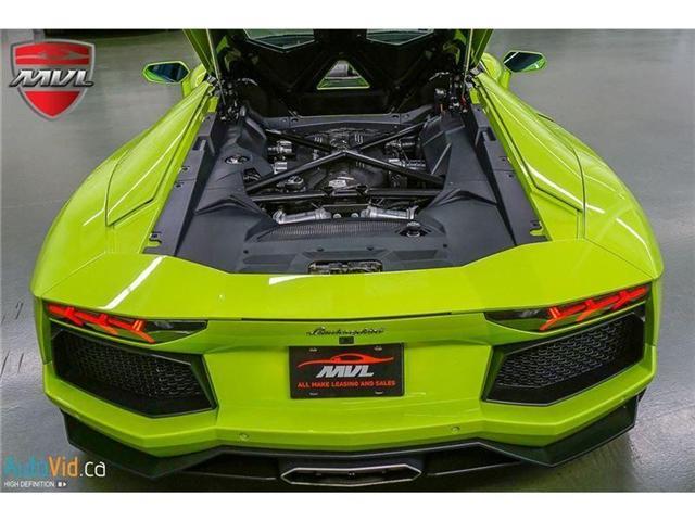 2017 Lamborghini Aventador LP700-4 Roadster (Stk: Lamborghini-1) in Oakville - Image 48 of 50