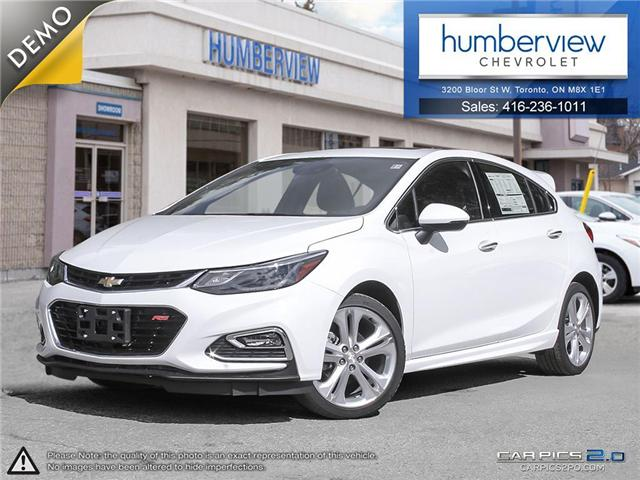2018 Chevrolet Cruze Premier Auto (Stk: 801124) in Toronto - Image 1 of 27