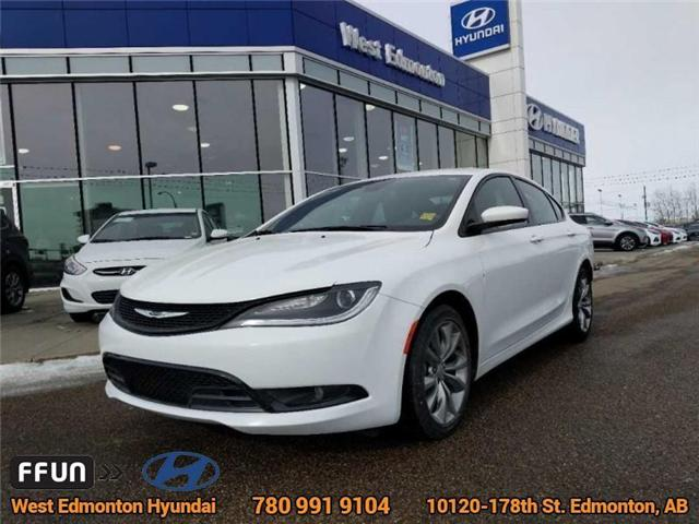 2015 Chrysler 200 S (Stk: E3016) in Edmonton - Image 1 of 21