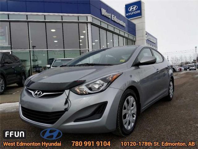 2016 Hyundai Elantra GL (Stk: 81580A) in Edmonton - Image 1 of 21