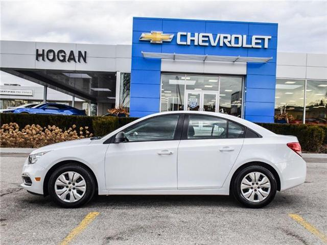 2016 Chevrolet Cruze Limited 2LT (Stk: A143354) in Scarborough - Image 2 of 24