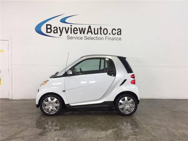 2013 Smart Fortwo - KEYLESS ENTRY|A/C|BLUETOOTH|LOW KM! (Stk: 31866J) in Belleville - Image 1 of 22