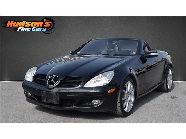 2008 Mercedes-Benz SLK-Class Base NAV, CONVERTIBLE, ACCIDENT FREE ...