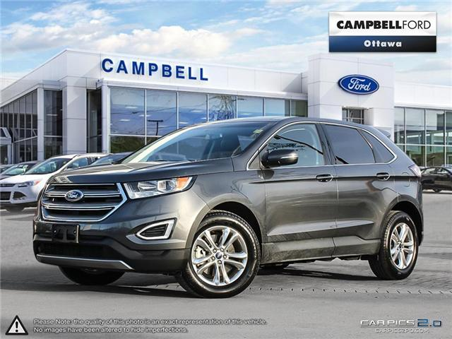 2017 Ford Edge SEL AWD-LEATHER-POWER ROOF-NAV (Stk: 939070) in Ottawa - Image 1 of 27