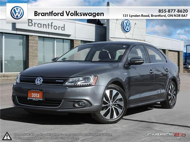 2013 Volkswagen Jetta Turbocharged Hybrid Highline (Stk: G18151A) in Brantford - Image 1 of 27
