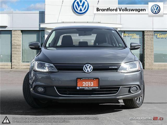 2013 Volkswagen Jetta Turbocharged Hybrid Highline (Stk: G18151A) in Brantford - Image 2 of 27