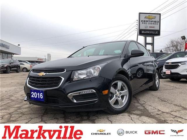 2016 Chevrolet Cruze 2LT- LEATHER- GM CERTIFIED PRE-OWNED- 1 OWNER (Stk: P6161) in Markham - Image 1 of 22