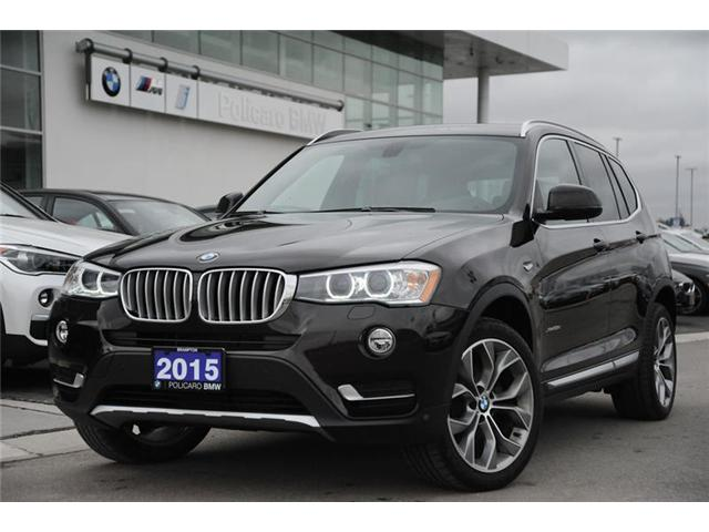 2015 BMW X3 xDrive28d (Stk: 8C80758A) in Brampton - Image 1 of 13