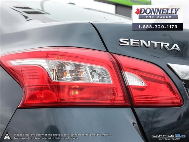 2017 Nissan Sentra  (Stk: CLKU2077) in Kanata - Image 12 of 27