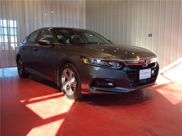 2018 Honda Accord EX-L (Stk: H5668) in Sault Ste. Marie - Image 1 of 5